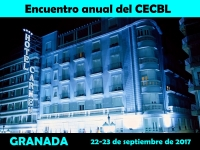 The VII Annual Show of the CECBL will take place in the Carmen **** Hotel in Granada