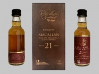 The Single Malts of Scotland - Macallan 21 y.o.